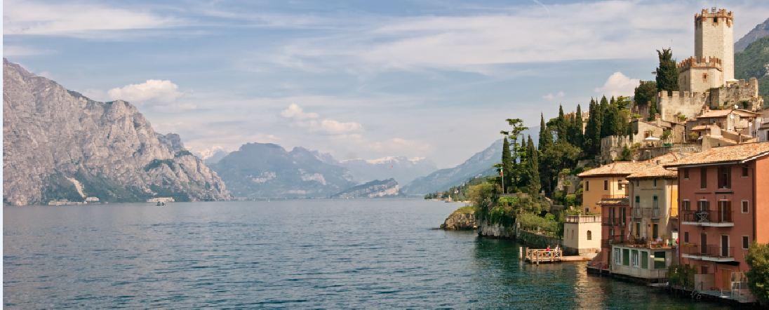 Vakantie op een Camping aan het Gardameer in Italië